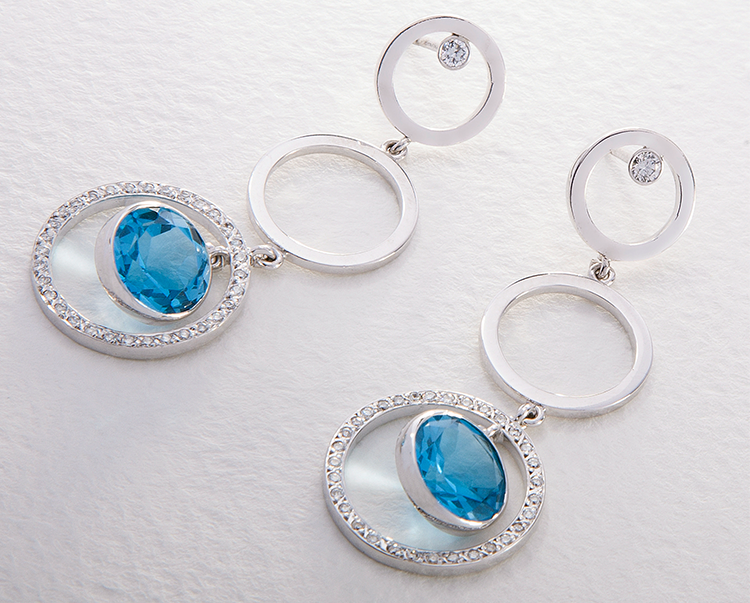 earrings for round faces