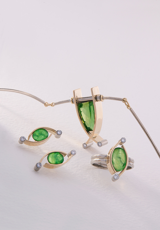 jewellery suites from Allen Brown