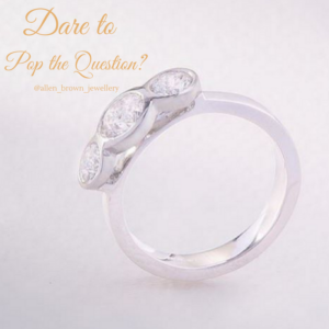 Dare to pop the question