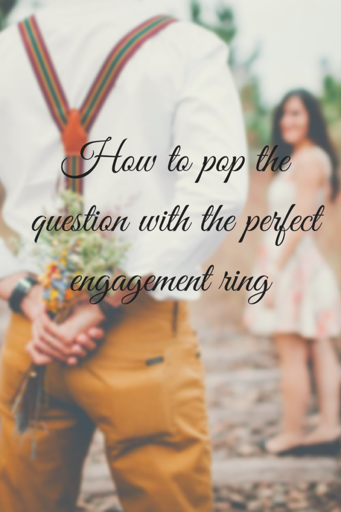 How to pop the question with the