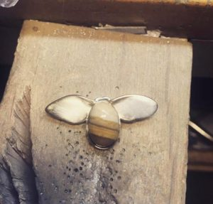 bumble bee brooches