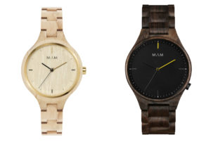 Styling wooden watches