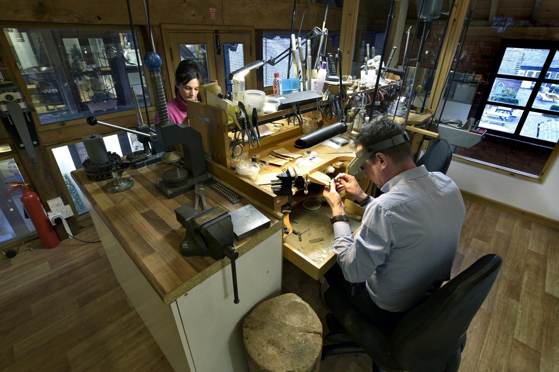 Onsite Workshop at Allen Brown Jewellery